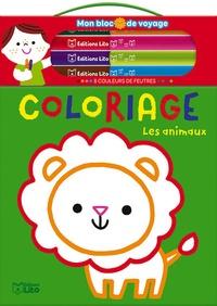 Bérengère Staron - Coloriage Les animaux - Avec 8 couleurs de feutres.