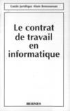 BERENGUER - Contrat de travail en informatique (Guide juridique).