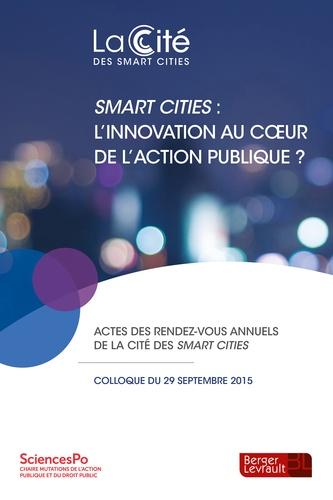 Berger-Levrault - Smart cities : l'innovation au coeur de l'action publique ?.
