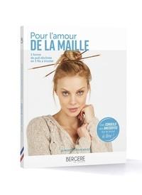 Bergère de France - Pour l'amour de la maille - 1 forme de pull déclinée en 3 fils à tricoter.