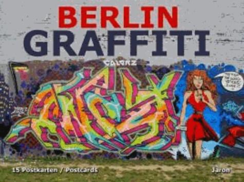 Berlin Graffiti - 15 Postkarten / Postcards.