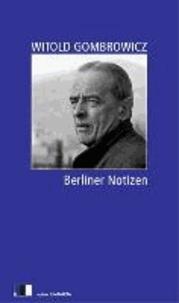 Berliner Notizen.