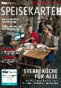 Berlins Gastro Guide - Speisekarte 2014 - tip Verlag Berlin.