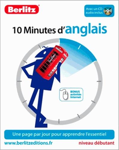 Berlitz - 10 Minutes d'anglais. 1 CD audio