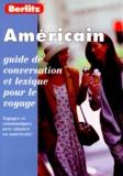 Berlitz - AMERICAIN. - Guide de conversation.