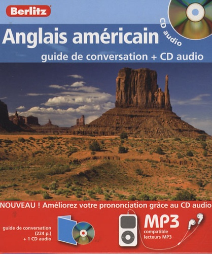 Berlitz - Anglais américain - Guide de conversation. 1 CD audio MP3