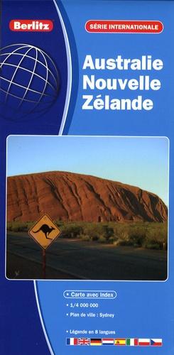 Berlitz - Australie - Nouvelle Zélande - 1/4 000 000.