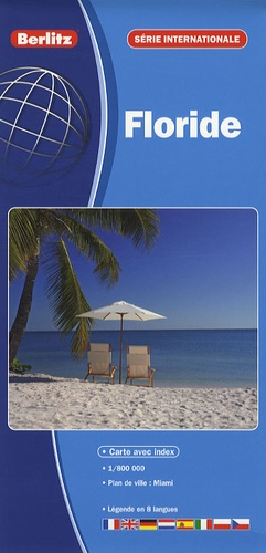 Berlitz - Carte routière Floride - 1/800 000.