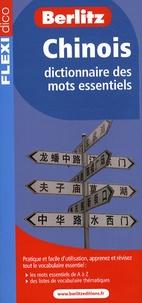 Berlitz - Chinois - Dictionnaire des mots essentiels.
