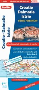 Berlitz - Croatie Dalmatie Istrie - 1/700 000.