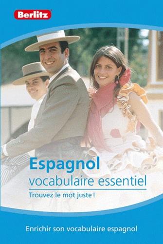Berlitz - Espagnol vocabulaire essentiel.