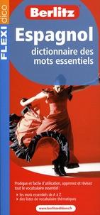 Berlitz - Espagnol - Dictionnaire des mots essentiels.