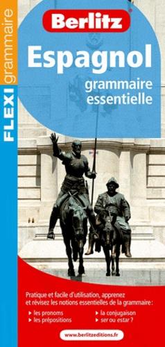 Berlitz - Espagnol - Grammaire essentielle.