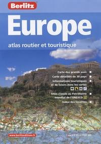 Rhonealpesinfo.fr Europe - Atlas routier et touristique 1/800 000 Image