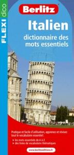 Berlitz - Italien - Dictionnaire des mots essentiels.