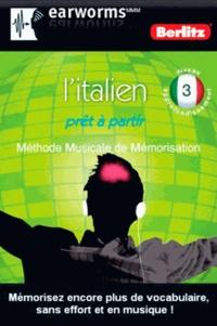 Berlitz - L'italien prêt à partir - Niveau approfondissement 3.