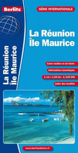 Berlitz - La Réunion, Ile Maurice - 1/125 000.