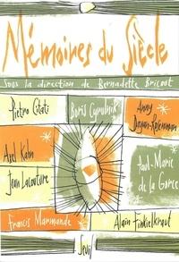 Bernadette Bricout et  Collectif - Mémoires du siècle.