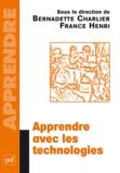 Bernadette Charlier et France Henri - Apprendre avec les technologies.