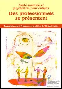 Des professionnels se présentent - Santé mentale et psychiatrie pour enfants.pdf