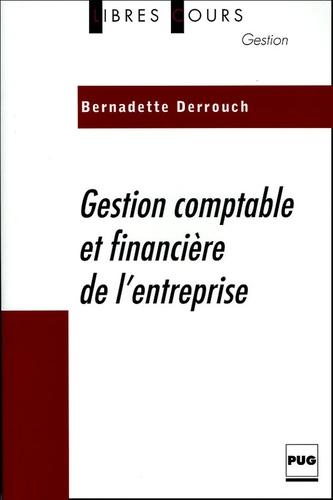 Bernadette Derrouch - Gestion comptable et financière de l'entreprise.