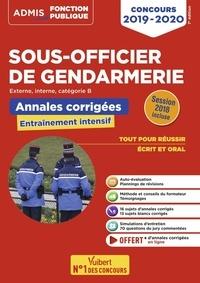 Bernadette Lavaud et François Lavedan - Concours sous-officier de gendarmerie catégorie B - Annales et sujets inédits corrigés.
