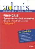 Bernadette Lavaud - Français - Epreuves écrites et orales, Catégorie C.