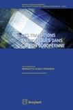 Bernadette Le Baut-Ferrarèse - Les transitions énergetiques dans l'Union Européenne.