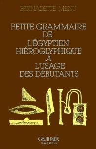 Petite grammaire de légyptien hieroglyphique à lusage des débutants.pdf