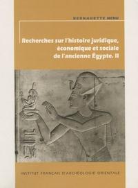 Recherches sur lhistoire juridique, économique et sociale de lancienne Egypte - Volume 2.pdf
