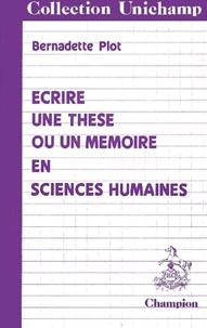 Ecrire une thèse ou un mémoire en sciences humaines.pdf