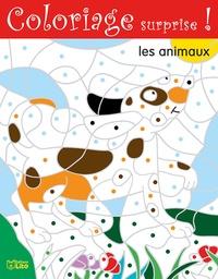 Bernadette Pons - Coloriage surprise ! - Les animaux.
