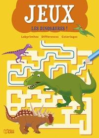 Bernadette Pons et Vanna Bristot - Les dinosaures ! - Labyrinthes, différences, coloriages.