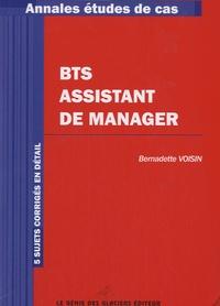 Bernadette Voisin - Annales BTS Assistant de Manager.