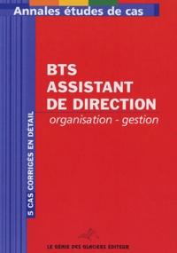 Deedr.fr Annales Organisation-Gestion BTS Assistant de direction Image