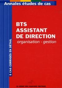 Annales Organisation-Gestion BTS Assistante de Direction- Etude de cas - Bernadette Voisin   Showmesound.org