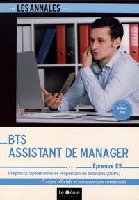 Bernadette Voisin - Diagnostic opérationnel et proposition de solutions Epreuve E5 BTS Assistant de manager.