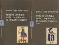 Bernal Díaz del Castillo - Histoire véridique de la conquête de la Nouvelle-Espagne Coffret 2 volumes.