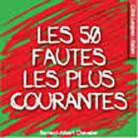 Bernard-A Chevalier - Les 50 fautes les plus courantes en italien.