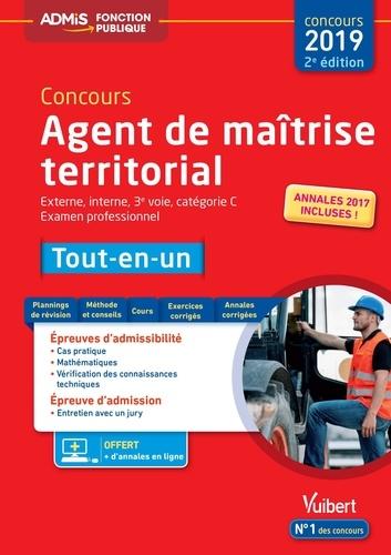 Bernard Accary et Olivier Bellégo - Concours Agent de maîtrise territorial externe, interne, 3e voie, examen professionnel, catégorie C - Tout-en-un.