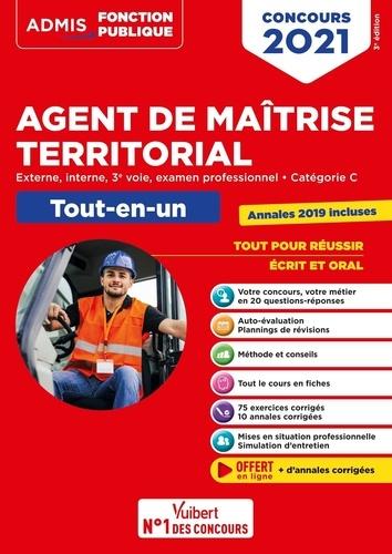 Concours Agent de maîtrise territorial externe, interne, 3e voie, examen professionnel, catégorie C. Tout-en-un  Edition 2021