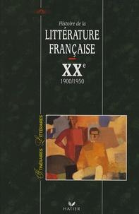 Bernard Alluin - Histoire de la littérature française XXe siècle - Tome 1, 1900-1950.