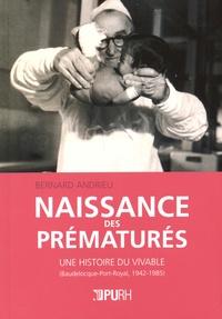 Histoiresdenlire.be Naissance des prématurés - Une histoire du vivable (Baudelocque-Port-Royal, 1942-1985) Image