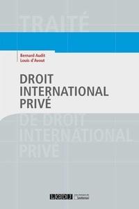 Ebooks gratuits en ligne ou à télécharger Droit international privé par Bernard Audit, Louis d' Avout