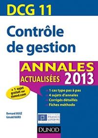 Contrôle de gestion DCG 11 - Annales.pdf