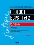 Pierre Peycru - Géologie tout-en-un BCPST 1re et 2e années - 2e éd..