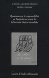 Bernard Baillaud - Céline-Paulhan : questions sur la responsabilité de l'écrivain au sortir de la Seconde Guerre mondiale - Première journée d'études Céline-Paulhan, Paris, 20 novembre 2007.