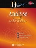 Bernard Beck et Isabelle Selon - Analyse 2e année PC-PC*/PSI-PSI* - Cours avec exercices corrigés.