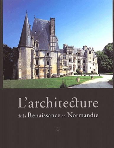 Bernard Beck et Pierre Bouet - L'architecture de la Renaissance en Normandie Coffret 2 volumes.