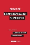Bernard Beignier et Didier Truchet - Droit de l'enseignement supérieur.